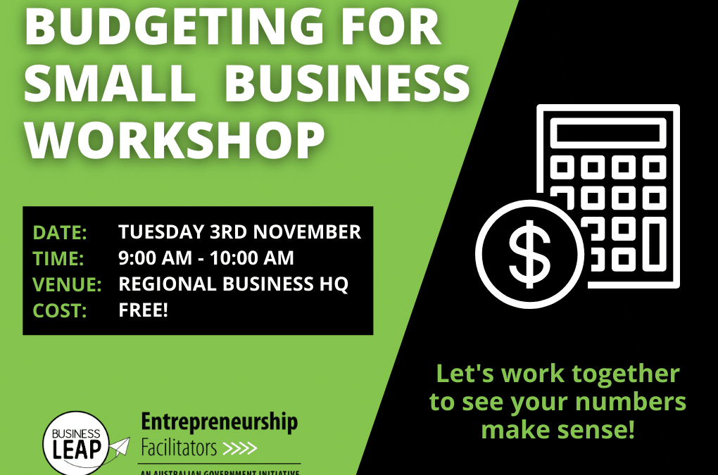 Budgeting for Small Business Workshop