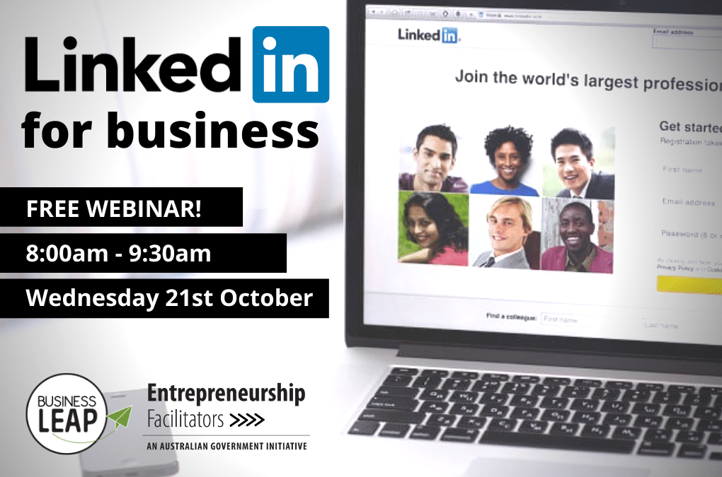 LinkedIn for Business Webinar